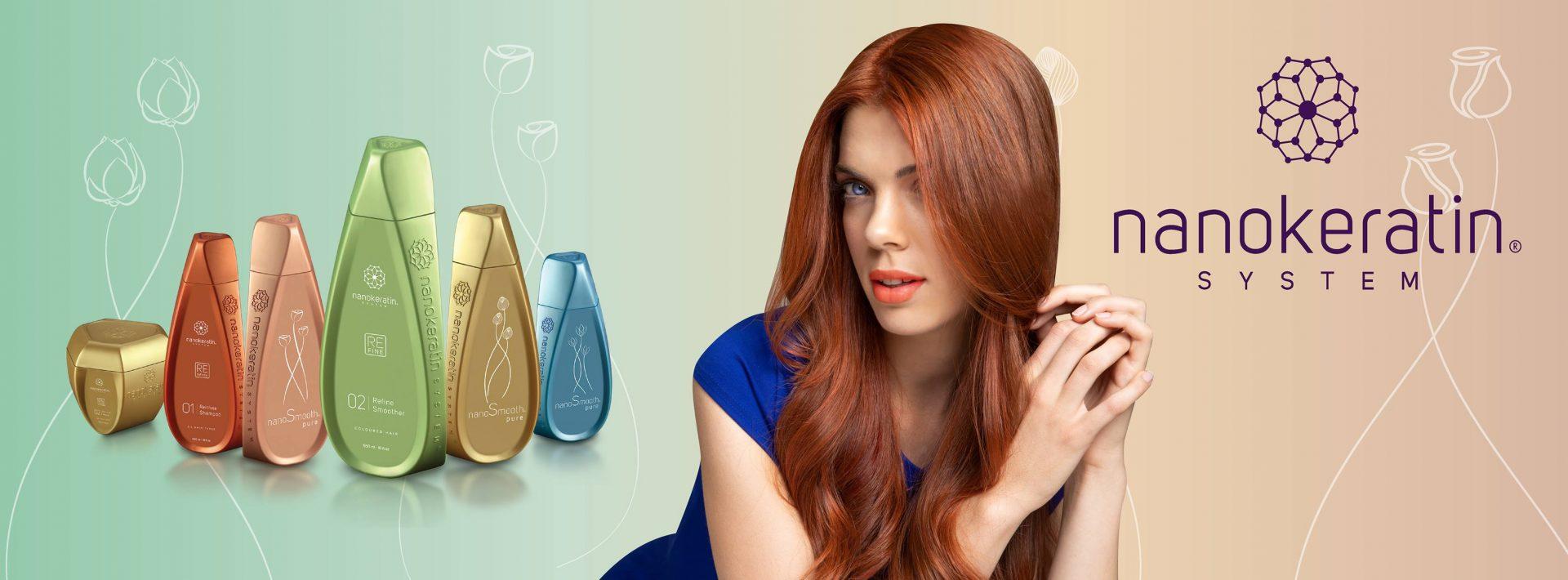 nanokeratin system brazillian blowdry  at East Putney Hair Salon