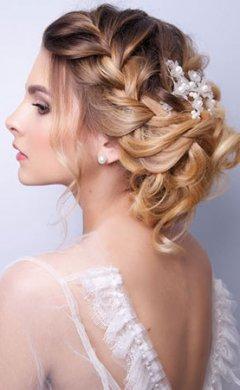 Wedding Hair at Republic Hairdressing Salon in Putney